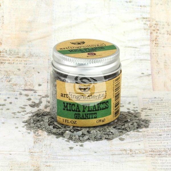 Prima Marketing Art Ingredients Mica Flakes Granite