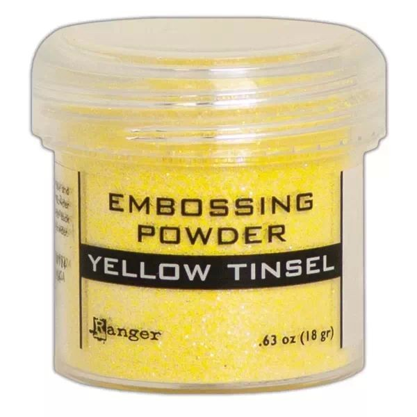 Ranger Tinsels Embossingpowder Yellow
