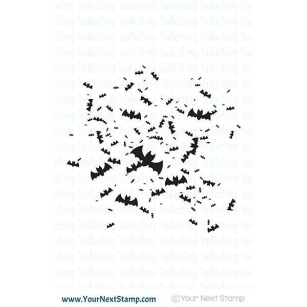 Your next Stamp Batty Background Splatter