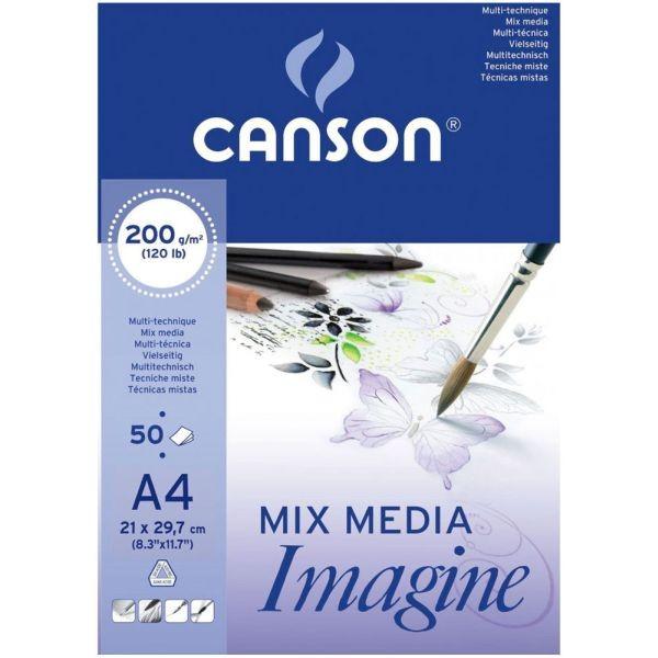 Canson Mix Media Imagine A4