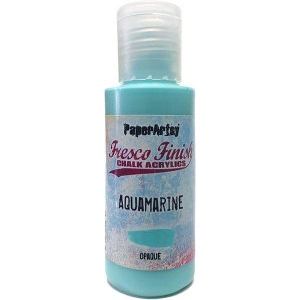 Fresco Finish 01 Bright-Turquoise Blues Aquamarine - Opaque