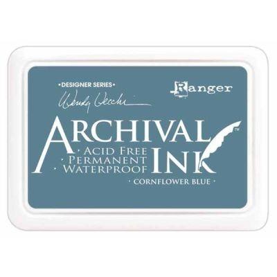 Ranger Archival Ink Pad by Wendy Vecchi Cornflower Blue