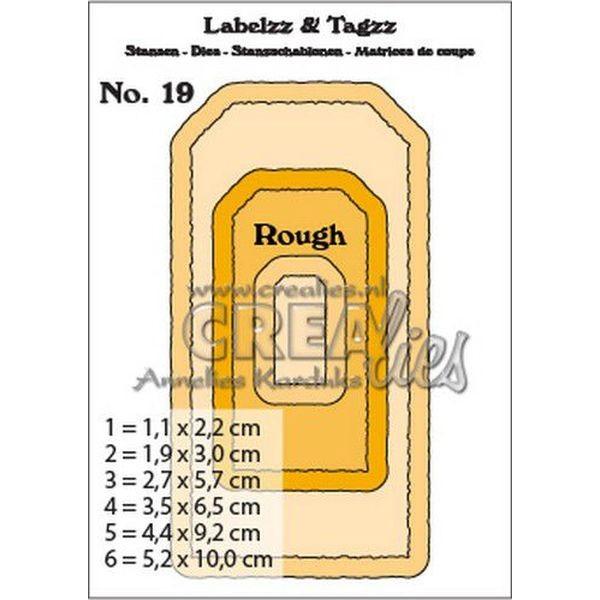 CreaLies Labelzz & Tagzz No. 19 Rough