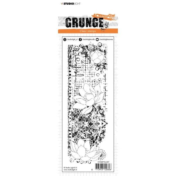 Studio Light Grunge Collection Clearstamps No. 497