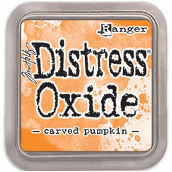 Tim Holtz Distress Oxide Pad Carved Pumpkin