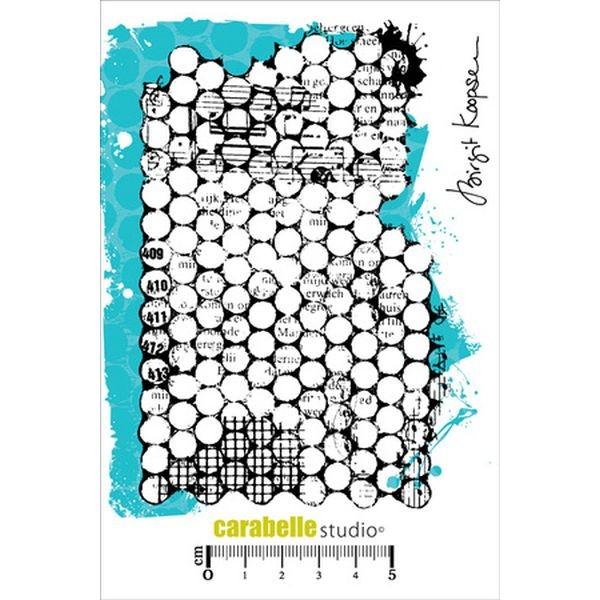 Carabelle Studio Tampon Art Stamp A6 Punchanella