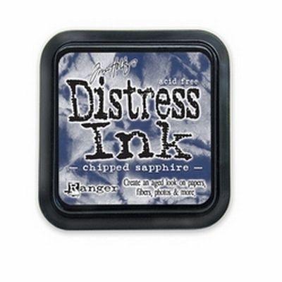 Distress Pad Chipped Sapphire