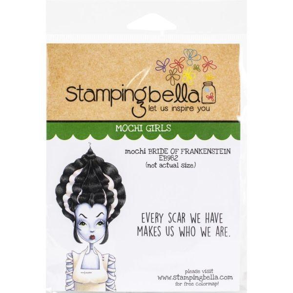 Stamping Bella Mochi Bride of Frankenstein