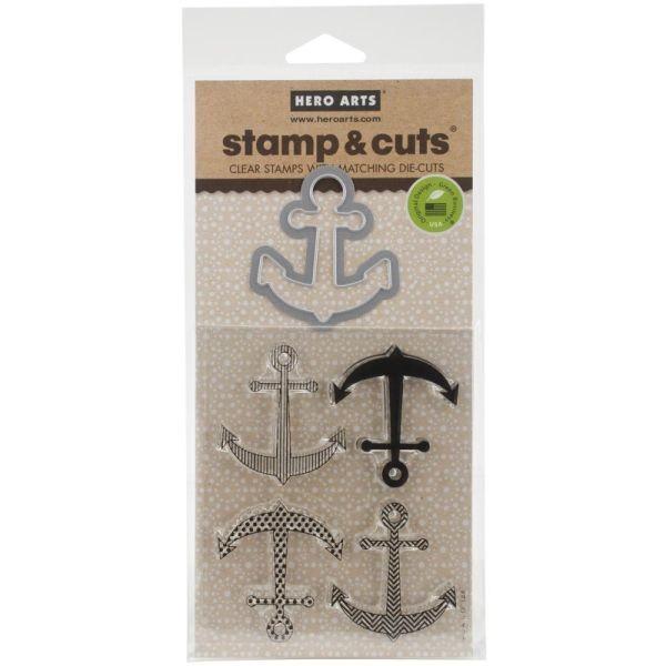 Hero Arts Stamp & Cut Anchor