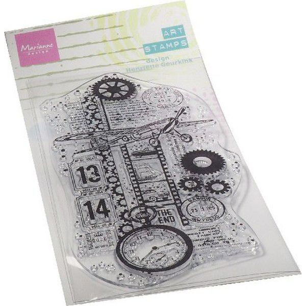 Marianne D Art Clearstamps Airplane