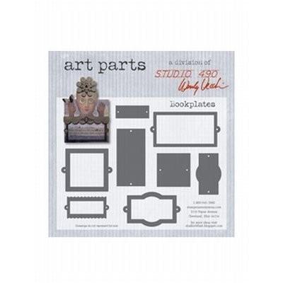 Studio 490 Art Parts Bookplates