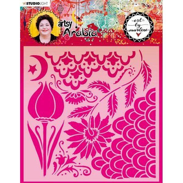 Studio Light Stencil Art by Marlene 6.0 Artsy Arabia No. 13