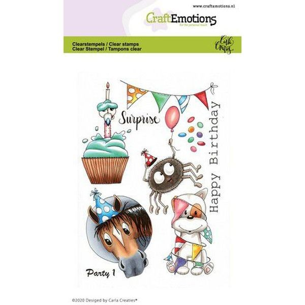 Craft Emotions Clearstamps Party I