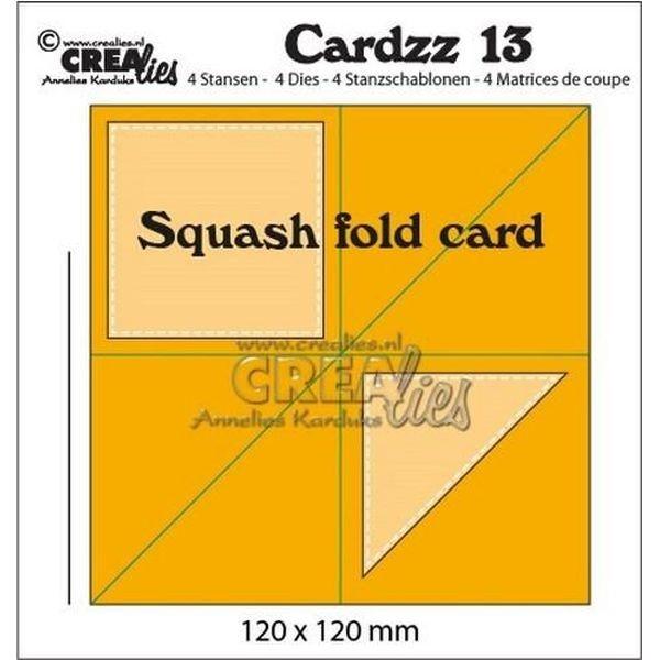 CreaLies Cardzz No.13 Squash Fold Card