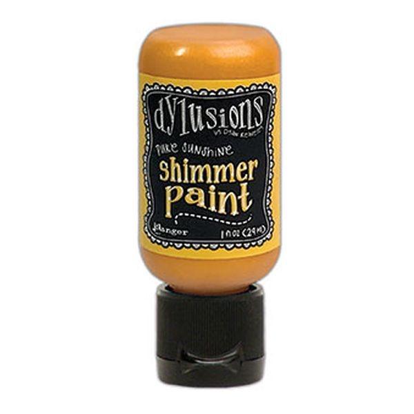 Dylusions Shimmer Paint Flip Cap Pure Shunshine