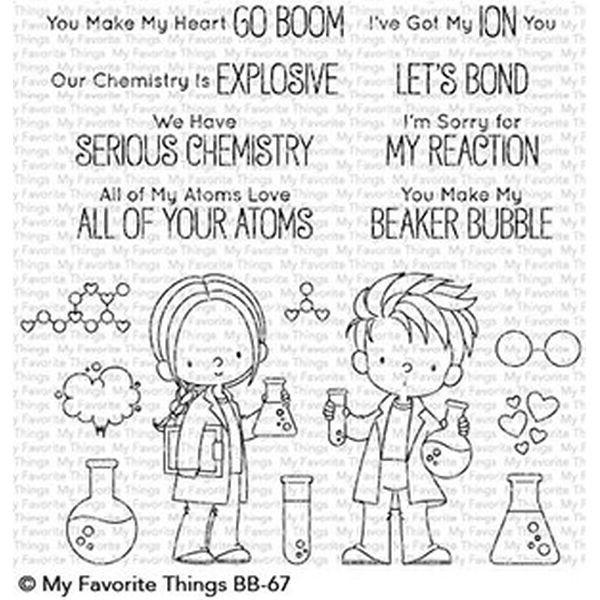 MFT Clearstamps Cute Chemists