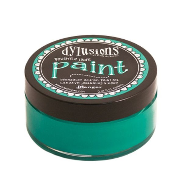 Dylusions Paint Polished Jade