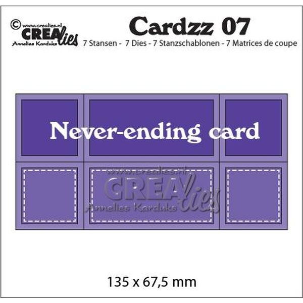 CreaLies Cardzz No. 07 Never Ending Card
