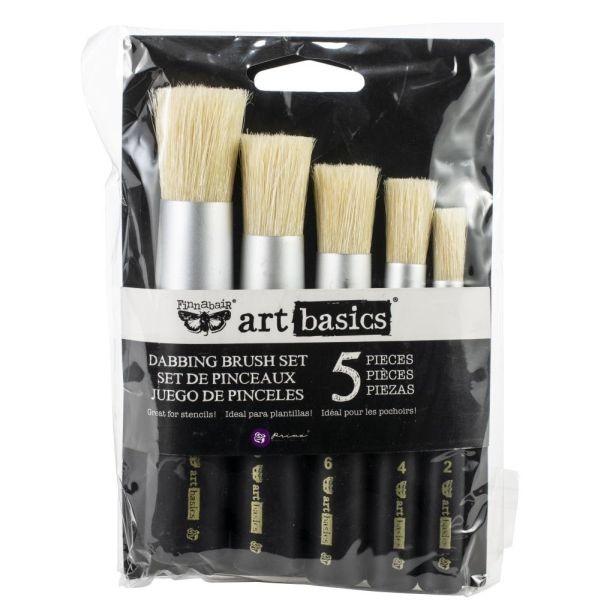 Finnabair Art Basics Dabbing Brush Set