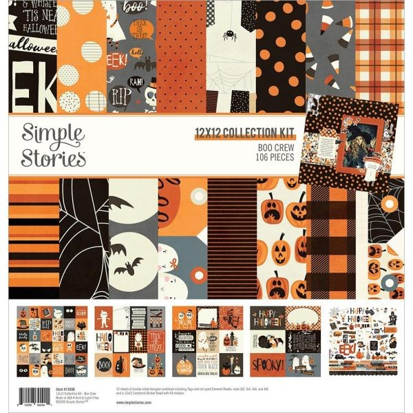 Simple Stories Boo Crew Collection Kit 12x12