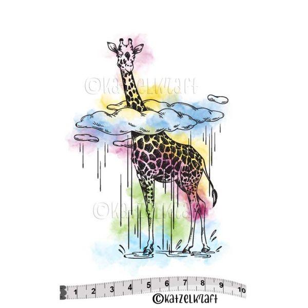 Katzelkraft Tampon SOLO Girafe Dans Les Nuages