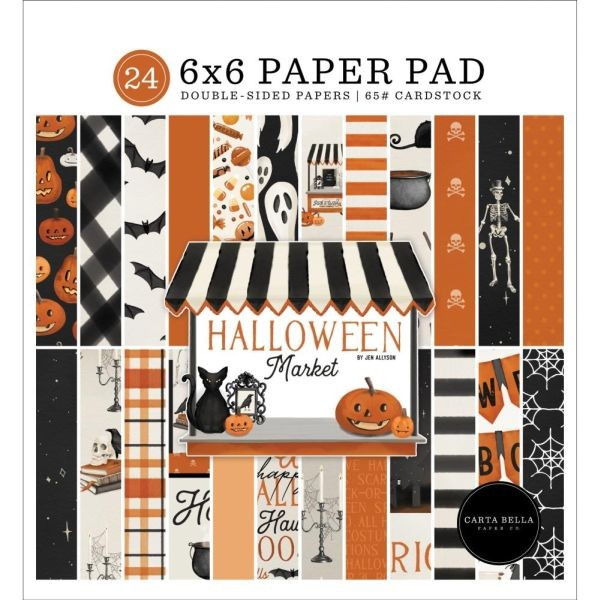 Carta Bella Halloween Market Paper Pad