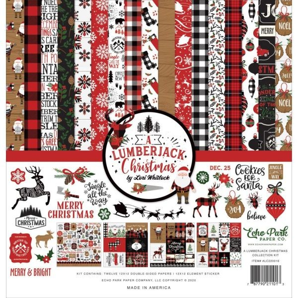Echo Park A Lumberjack Christmas Collection Pack