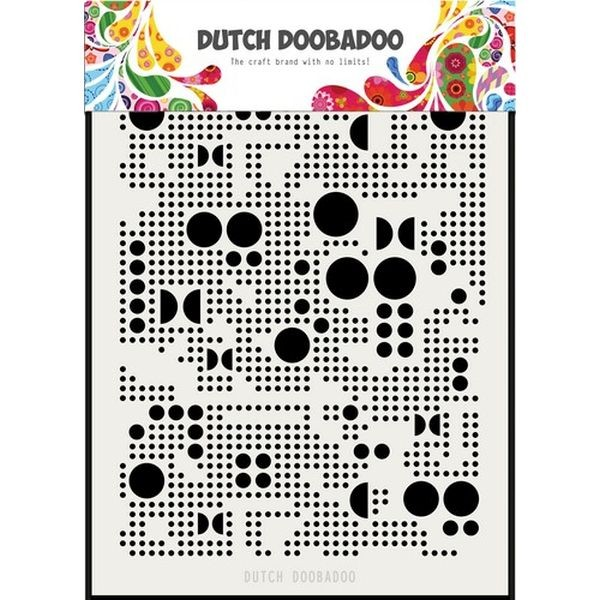 Dutch Doobadoo Mask Stencil A5 Various Dots