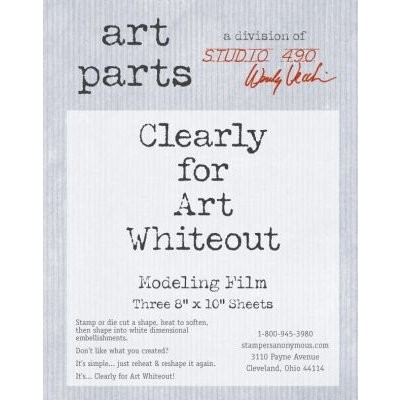 Studio 490 Clearly for Art Modeling Film Whiteout