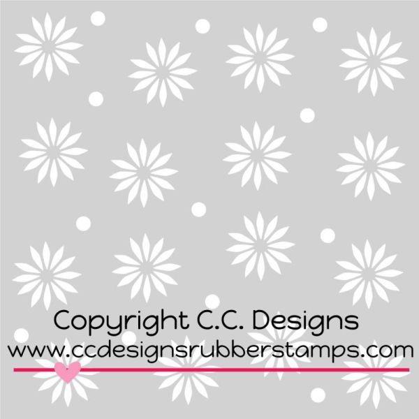 C.C. Designs Stencil Starburst
