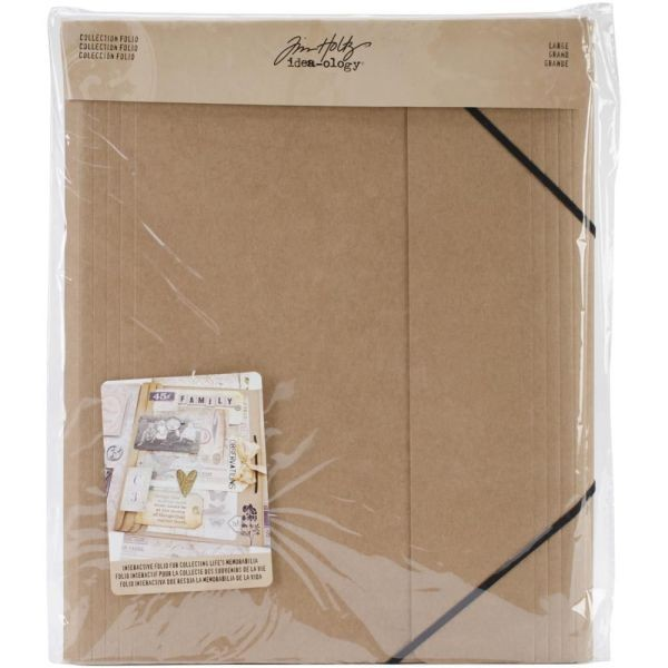 Tim Holtz Idea-Ology Collection Folio Large