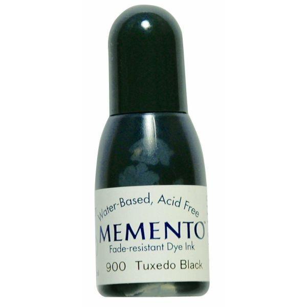 Memento Dye Ink Reinker Tuxedo Black