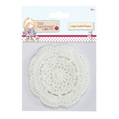 Tilly Daydream Large Crochet Flowers