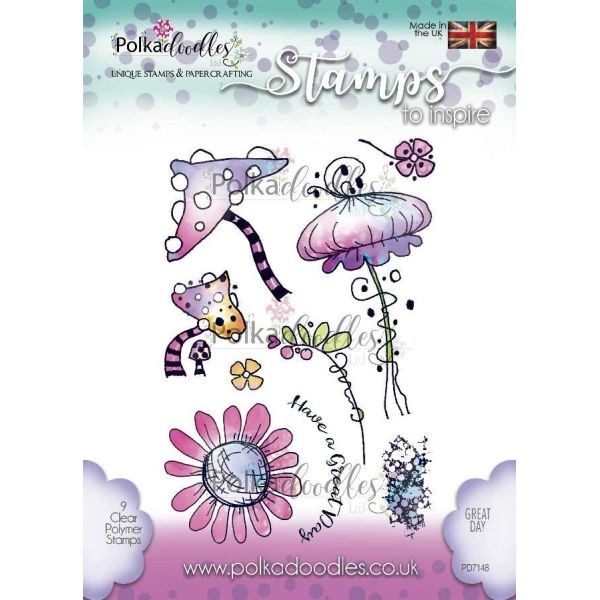 Polkadoodles Clearstamps Great Days