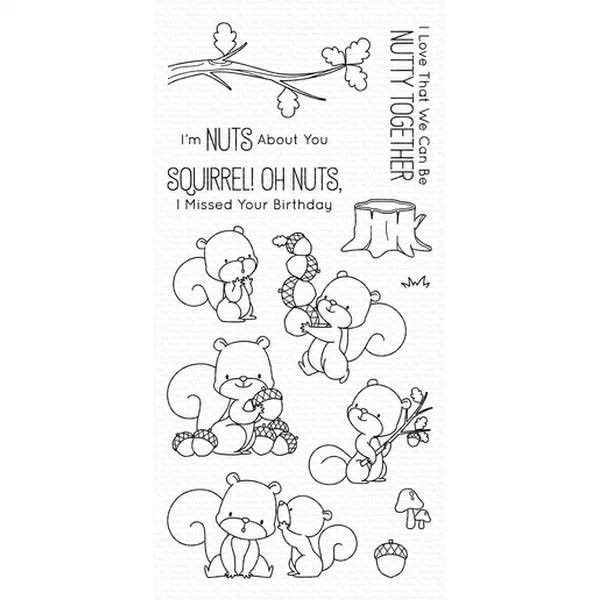 MFT Clearstamps Squirrel