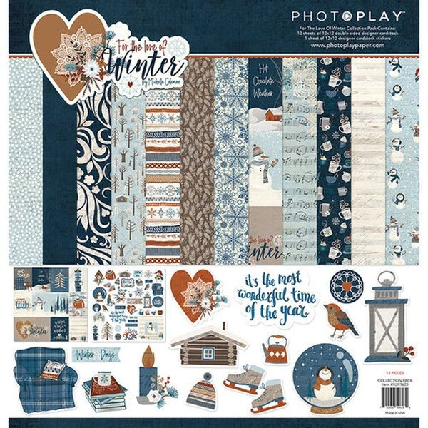 PhotoPlay Love of Winter Collection Pack 12x12