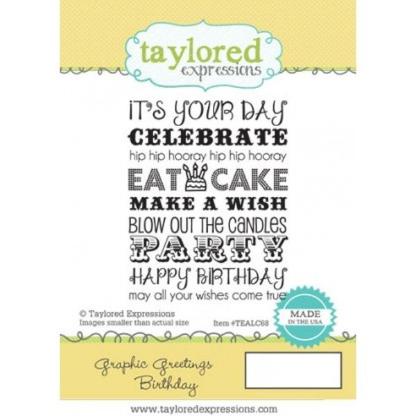 Taylored Expressions Graphic Greetings Birthday