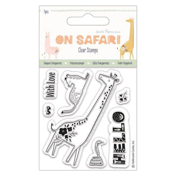 On Safari Clearstamps Giraffe