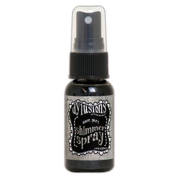 Dylusions Shimmer Spray Slate Grey