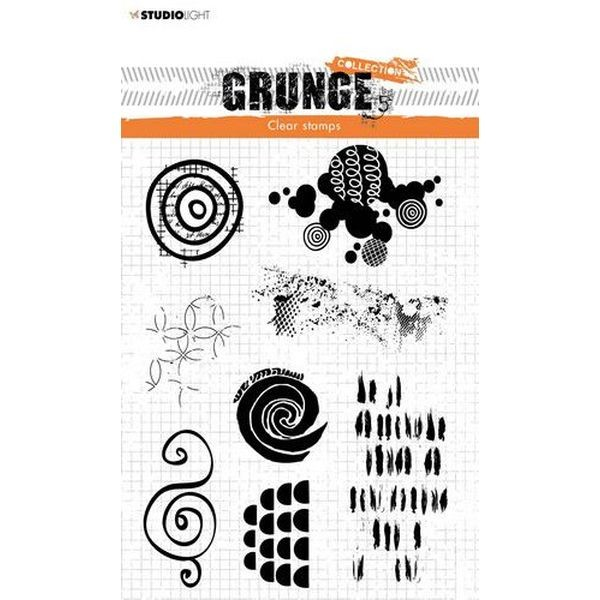 Studio Light Clearstamps Grunge Collection 4.0 No. 451