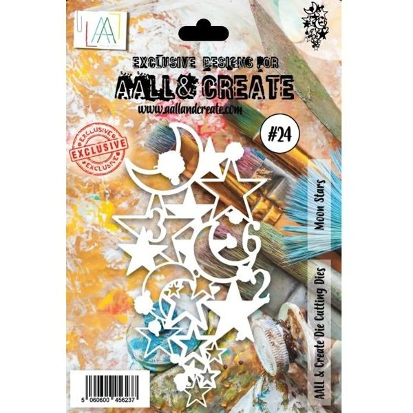 AALL & Create Die-Cutting Set #24 Moon Stars