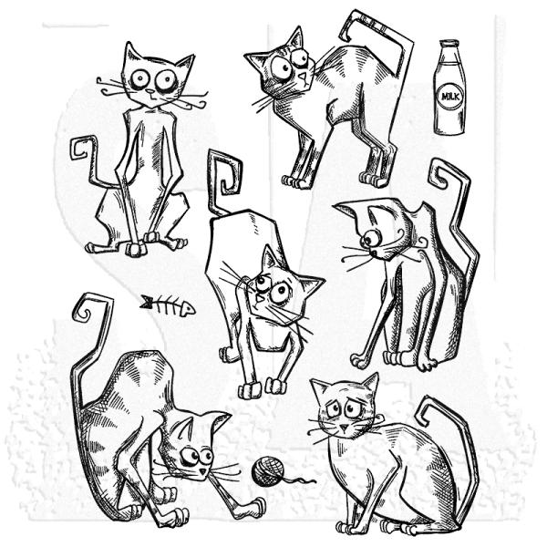 Tim Holtz Crazy Cats