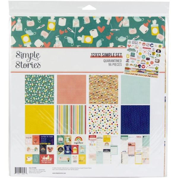 Simple Stories Quarantined Collection Kit