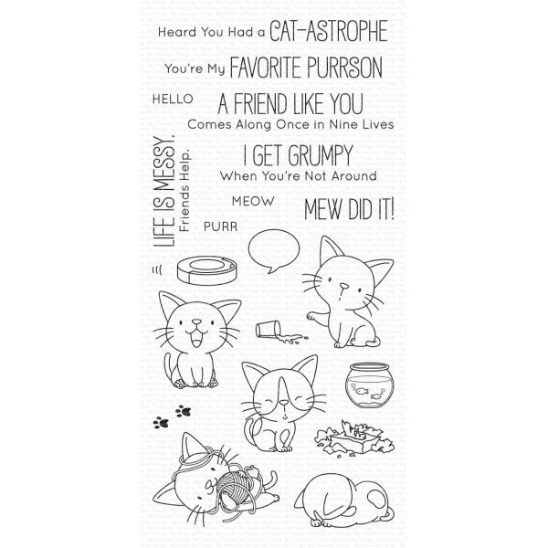 MFT Clearstamps Cat-astrophe