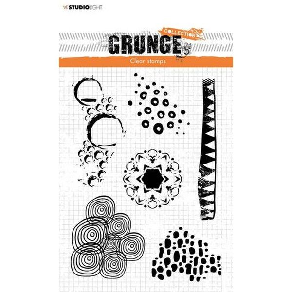 Studio Light Clearstamps Grunge Collection 4.0 No. 450