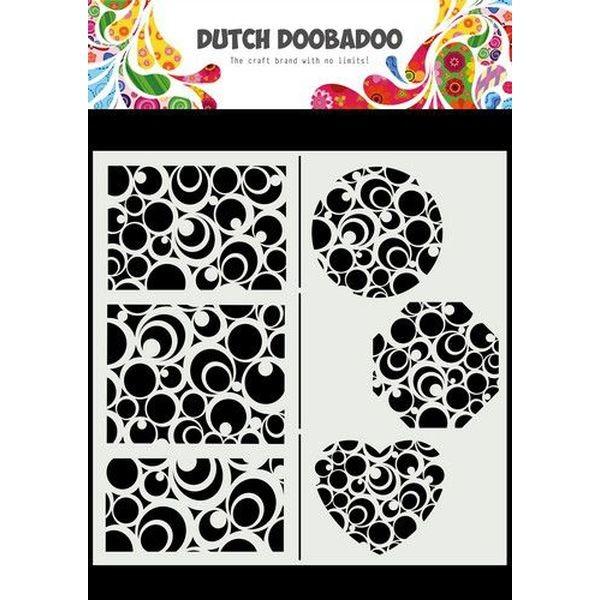 Dutch Doobadoo Mask Art Slimline Circles