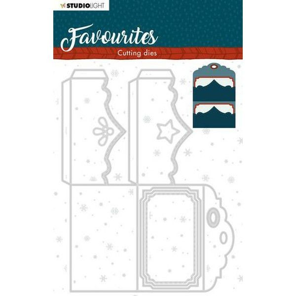 Studio Light Winter Favourites Cutting Dies No. 339