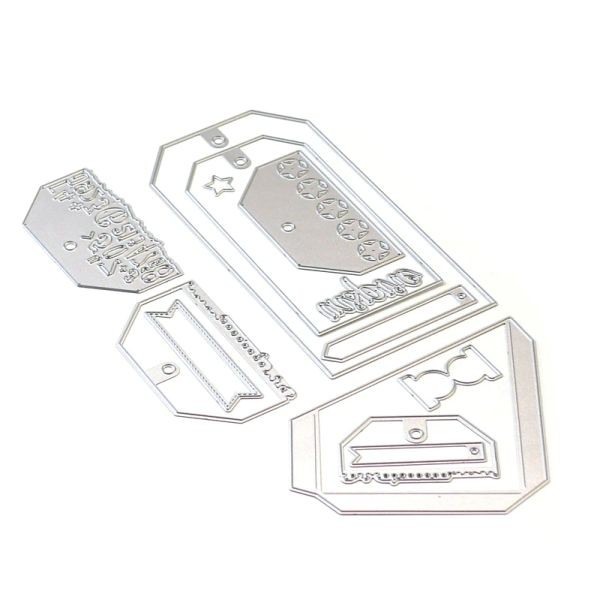 Elisabeth Craft Designs Die Planner Essentials 26 - Planner Pocket 3 - Tag & Toppers