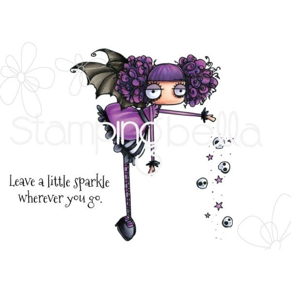 Stamping Bella Clingstamps Oddball Sparkle Fairy