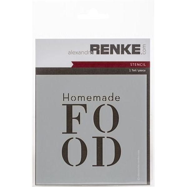 Alexandra Renke Stencil Homemade Food